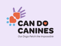 Can Do Canines Logo Redesign