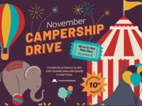Campership Circus Illustration