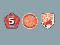 Youth Programs Badges Concepts