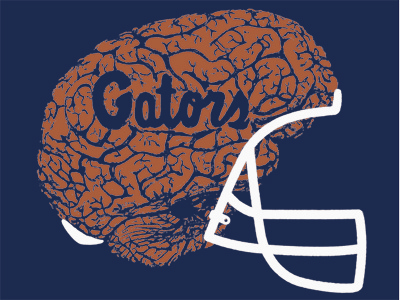 Uf honors block shirt