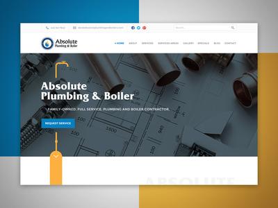 Absolute Plumbing Web Design