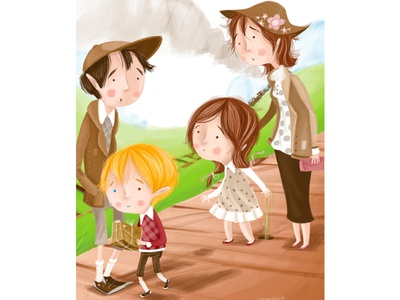 kids book illustration