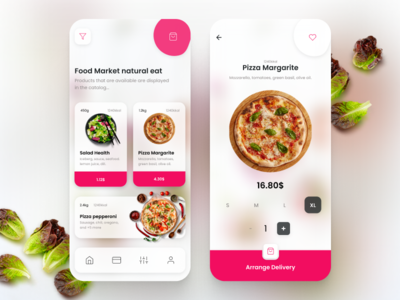 [1] Restaurant, food, delivery, purchase, market, App typography designer product eat24 eat food and drink food app ui uxui ux aplication app design googleplay appstore app market purchase delivery food