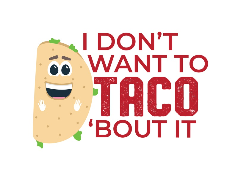 Lovable Loser Taco pun tshirt taco mascot baseball