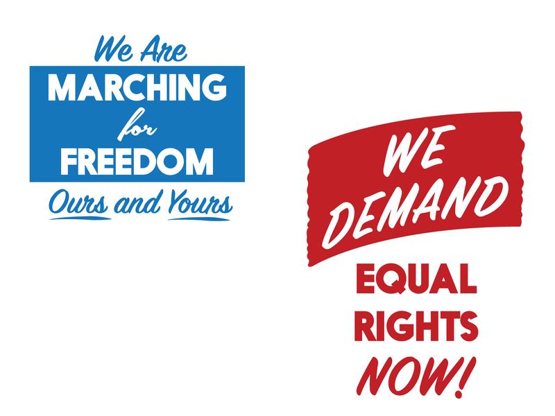 Civil Rights march vote america human rights equal rights civil rights protest rights