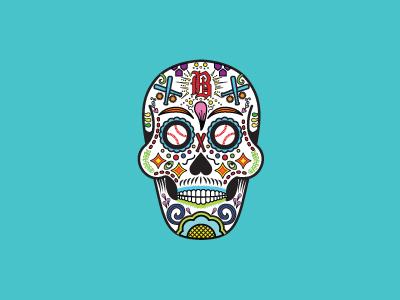Sugar Skull Jersey Design vector alabama dia de los muertos heritage mexican colorful illustration skull jersey nonprofit hispanic sugar skull baseball