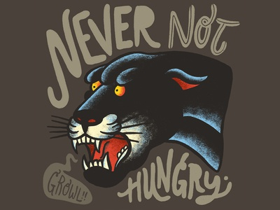 Hungry Panther