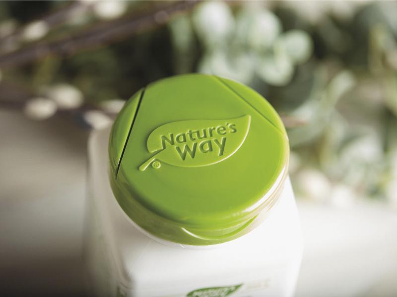 Nature's Way Logo Refresh packaging brand simplify logo logo design branding design branding