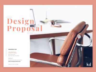 Design Proposal Exploration 🍂