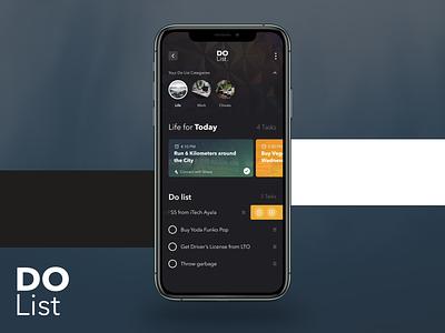 To Do List App dailyui mobile ui interface design design