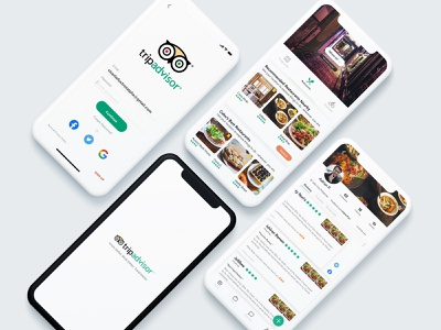 TripAdvisor Concept figma practice design interface design ui