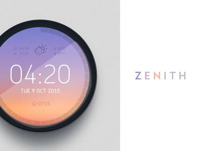 Zenith | Weather Clock