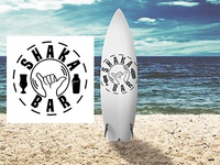 Shaka Bar Logo Design