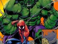 Spider Man And Hulk