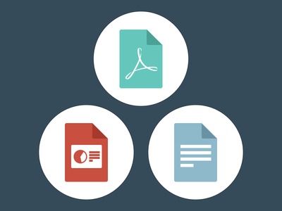 Files files flat icon simple minimal filetypes icon set illustration