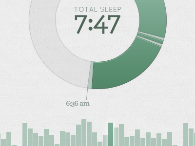 Visualizing sleep