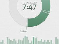 Visualizing My Sleep
