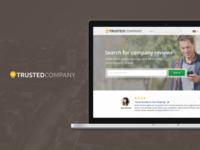 Trustedcompany.com Home page - 2015