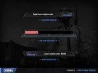 ChunkaTV PUBG In-game overlay