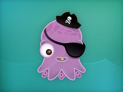 Lil' octopus mascot