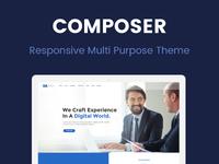Composer - Responsive Multi Purpose WordPress Theme