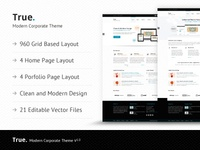 True Modern and Corporate Theme
