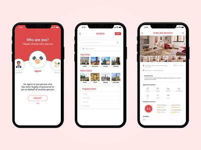 Real Estate | Buy/Sale/Rent Properties App