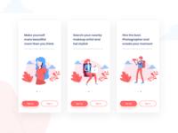 On-boarding Screens for Artist App