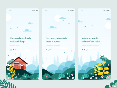 Loving Nature On Boarding Concept