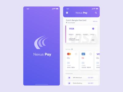 Nexus Pay App Redesign Concept
