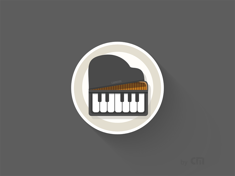 [Sketch Exercise] Icon 160816 Piano    piano sketch exercise