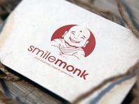 Happy Monk Logo Template