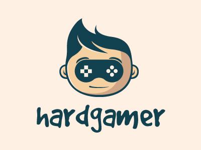 Hardcore Gamer Logo By Alberto Bernabe - Dribbble