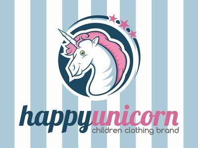 Happy Unicorn Logo
