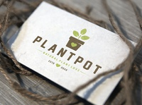 Plant Pot Love Logo Template garden shop eco climatic change agriculture nature natural plant a tree organic love heart tree seed raise awareness planting plant pot vector branding brand identity logo design logo template