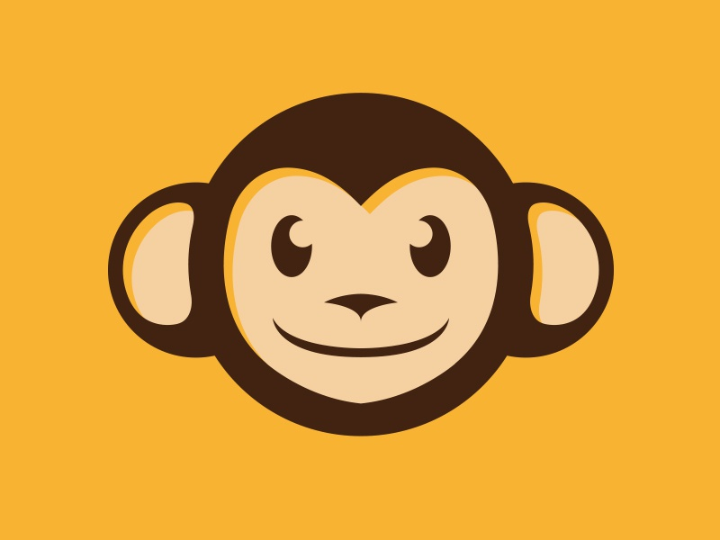monkey logo by alberto bernabe dribbble