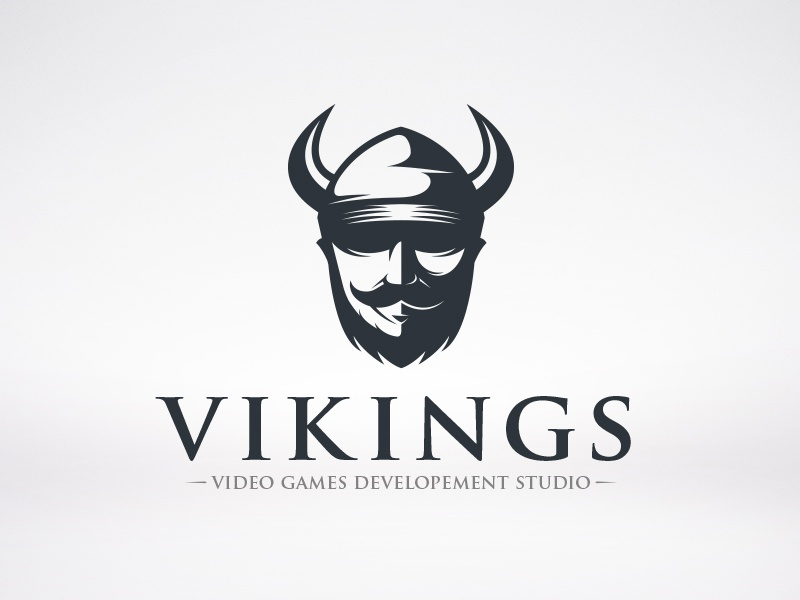 Viking Logo logo valhalla barbarian warrior horns fight mythology guard myth helmet viking vikings