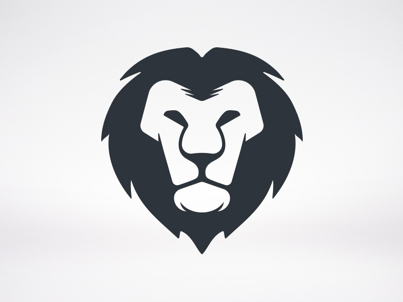 lion head logoalberto bernabe - dribbble