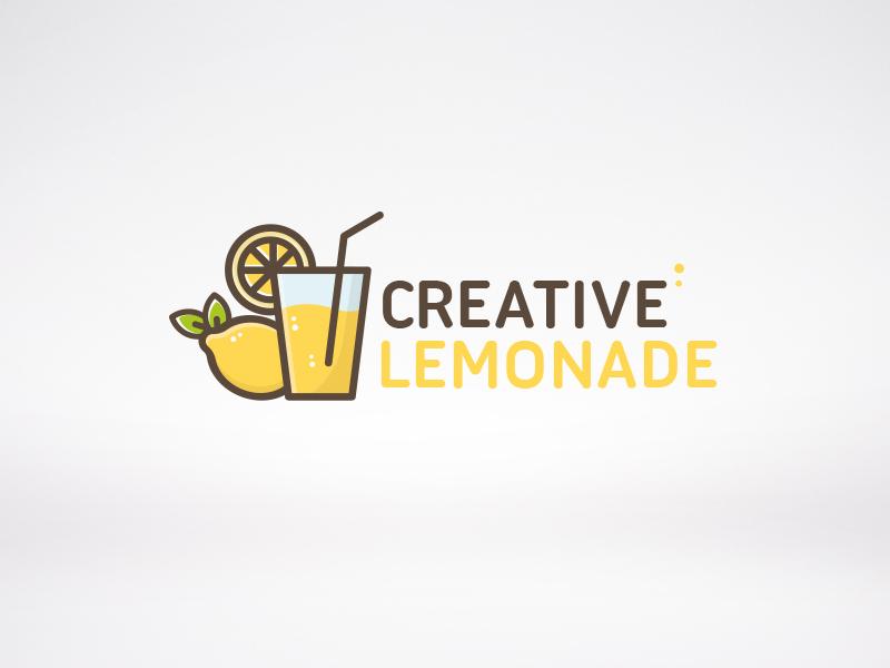 creative lemonade logo by alberto bernabe dribbble