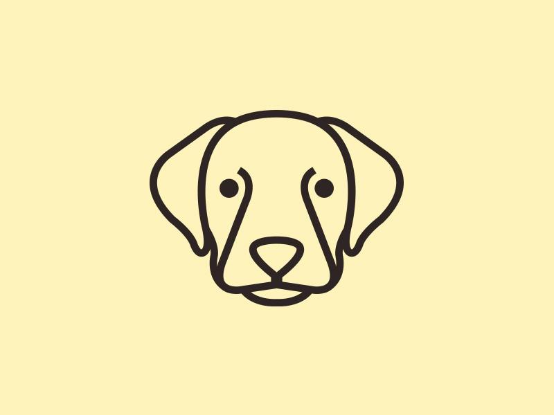Labrador Retriever Logo by Alberto Bernabe on Dribbble