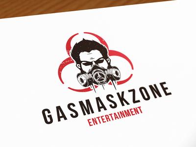 Gas Mask Logo Template by Alberto Bernabe - Dribbble