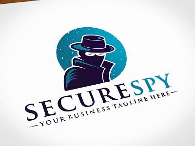 Security Spy Logo Template by Alberto Bernabe on Dribbble