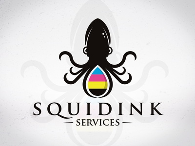 Squid Ink Logo Template