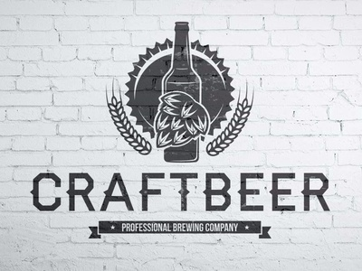 Brewing Craft Beer Logo