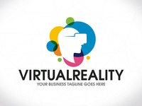 Virtual Reality Colorful Logo