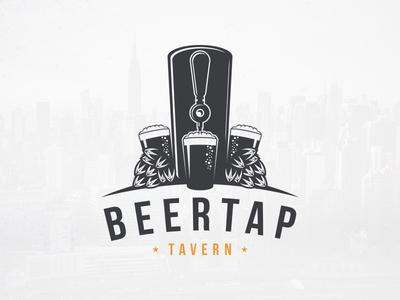 Homemade Beer Crest Logo