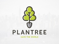 Plant a Tree Logo Template