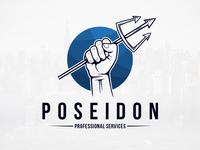 Trident of Poseidon Logo