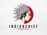The Indian Face Logo