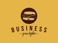 Burger Fast Food Logo